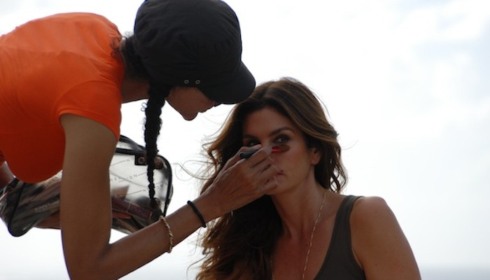 Deichmann Shoot - Cindy Crawford Makeup